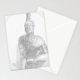 Roman legionnaire Stationery Cards