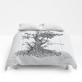 Bristlecone Pine Sketch Comforters