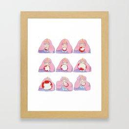 PB Framed Art Print