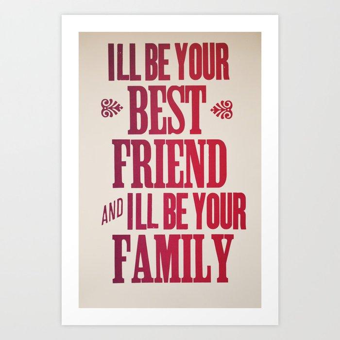 Dr. Quinn Medicine Woman Letterpress Print - Best Friend & Family Art Print