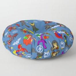 Super Hero Combo collection Floor Pillow