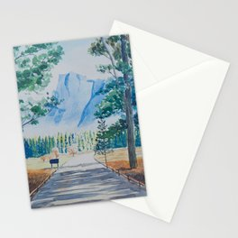 Yosemite Valley Half Dome Stationery Cards