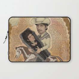 Bob Dylan - Find Out Something Only Dead Men Know Laptop Sleeve