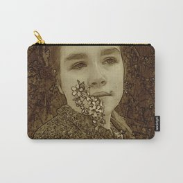 Portrait Of My Daughter Rosa Carry-All Pouch