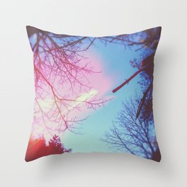 is this the real life? Throw Pillow