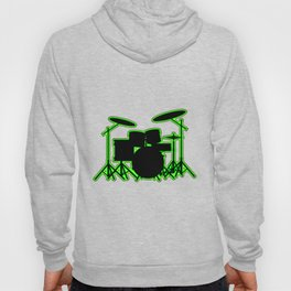 Neon Drum Kit Hoody