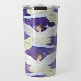 Christmas angels from the Nutcracker ballet Travel Mug