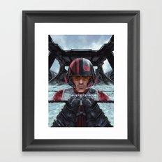 SW Hero pilot: Poe Framed Art Print
