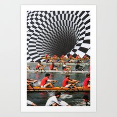 Row, Row, Row Art Print