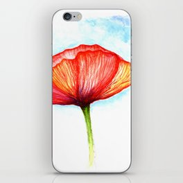 Papaver II iPhone Skin