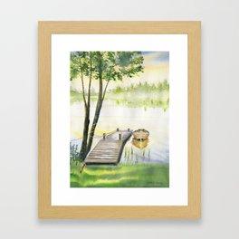 A Little Peace of Mind Framed Art Print