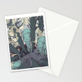 micro sleep part one Stationery Cards