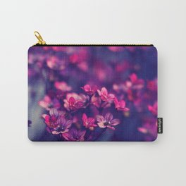 Cute Little Lilac Petals Carry-All Pouch