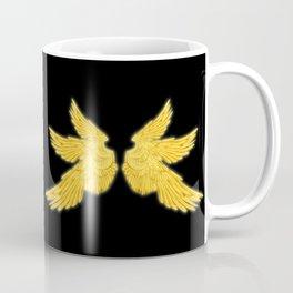 Gabriel with Feather Coffee Mug