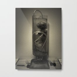 Test Tube Fetus Metal Print