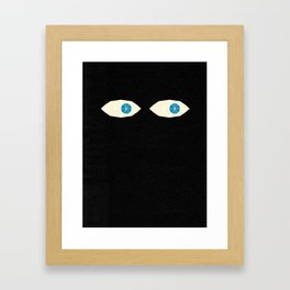 Over There Framed Art Print