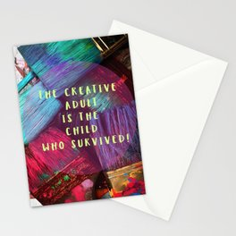 Express your inner creative child! Stationery Cards