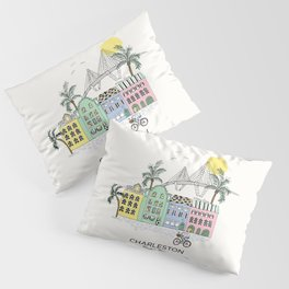 Charleston, S.C. Pillow Sham