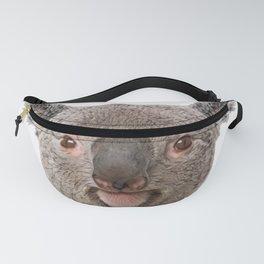 Koala Face Mammal Smiling Businessman Tubby Cheeks Fanny Pack