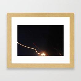 Illuminae. Framed Art Print