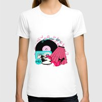 rock n roll T-shirts featuring Rockabilly Rock n Roll by BURPdesigns