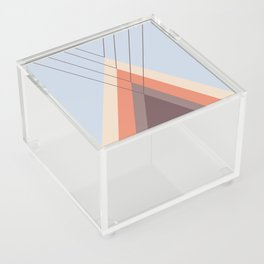 Iglu Blue Retro Acrylic Box