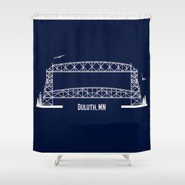 Aerial Shower Curtain