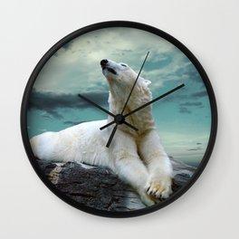 Polar Stretch Wall Clock