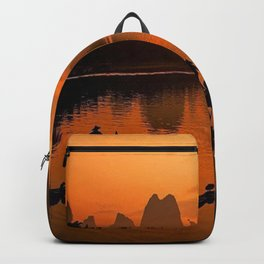 Li River in Guilin China Backpack