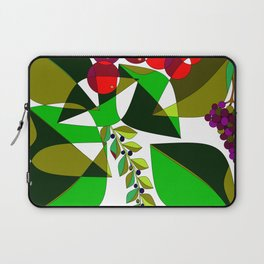 Grapes, Pomegranates, Blue Berries and Olives Laptop Sleeve
