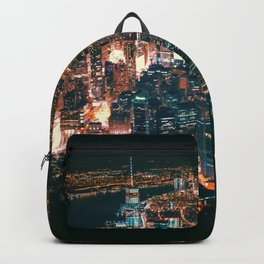 City of Lights New York City (Color) Backpack