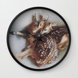Nothing To Fear My Deer Wall Clock
