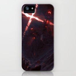 Iron Twins iPhone Case