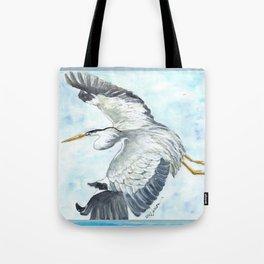 Soaring Heron Tote Bag