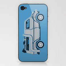 Back to The Future DeloreVan iPhone & iPod Skin