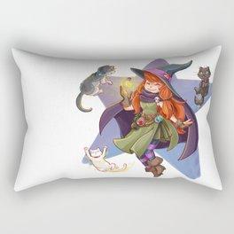 Fufunha Witch Rectangular Pillow
