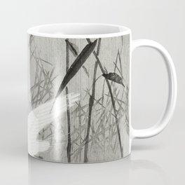 Two egrets in flight (1900 - 1936) by Ohara Koson (1877-1945) Coffee Mug