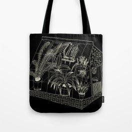 transparent greenhouse Tote Bag
