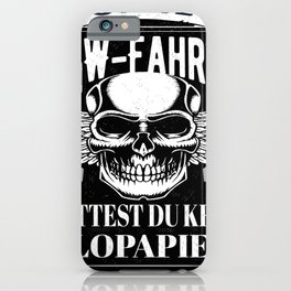 Without a truck driver you wouldn't have toilet paper Trucker Trucker Trucker iPhone Case