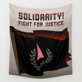 Solidarity in the Fight for Justice Wall Tapestry