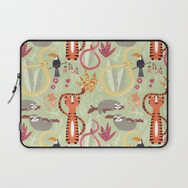 Rain forest animals 004 Laptop Sleeve