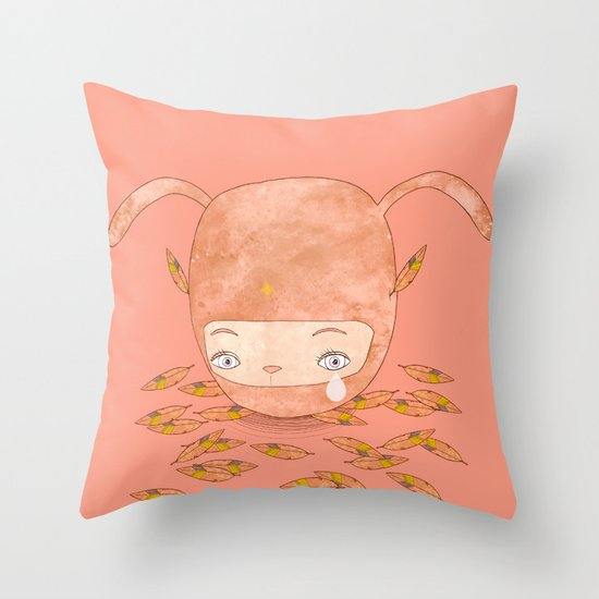 I DON'T MIND IF YOU FORGET ME FOREVER  Throw Pillow