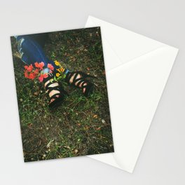 Fine Art Fashion | Flowers | Conceptual Photo | Moody  Stationery Cards
