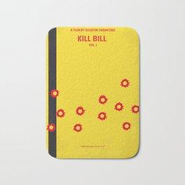 No048 My Kill Bill -part 1 minimal movie poster Bath Mat
