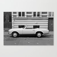 mercedes Canvas Prints featuring Mercedes Oldtimer by Vincent Weisser