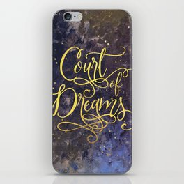 Court of Dreams iPhone Skin