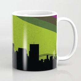 Memphis Skyline Coffee Mug