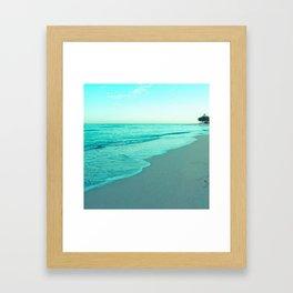 calm day 05 ver.blue Framed Art Print