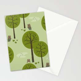 Ground Hogs Stationery Cards