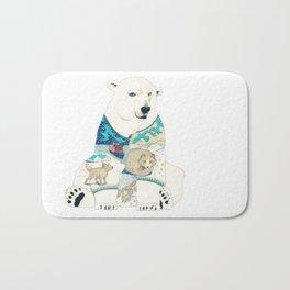 Polar Bear Bath Mat